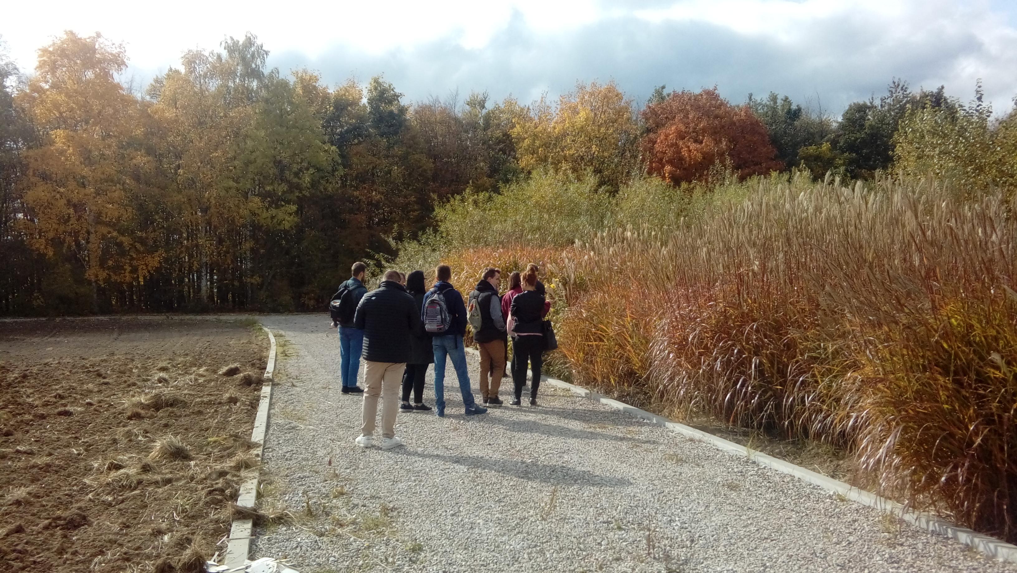 Jesienna edukacja w Ogrodzie Botanicznym KCRZG w Bydgoszczy