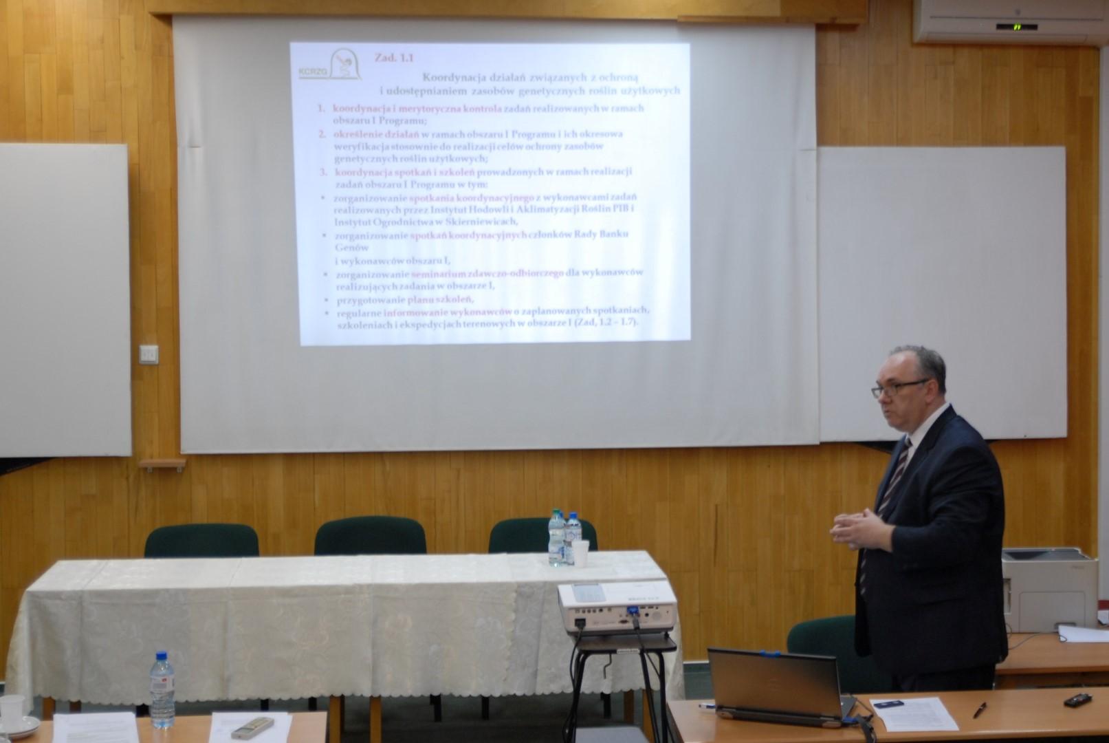 Seminaria zdawczo-odbiorcze w IHAR-PIB w Obszarze 1: Ochrona Zasobów Genowych Roślin Użytkowych