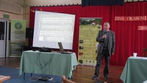 Konferencja Dni Trawnika Swarożynie prezentacja Wlodzimierz Majtkowski