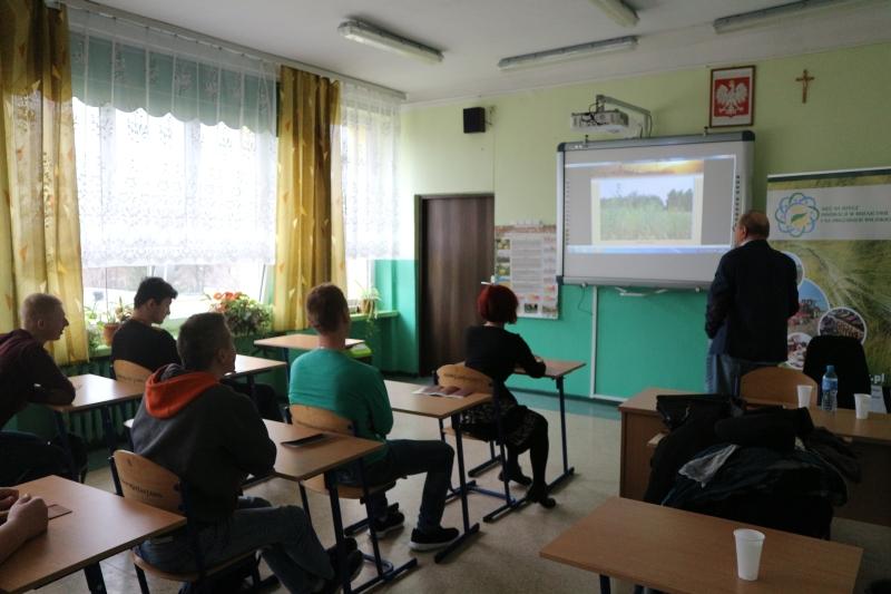 Szkolenie w ZSCKR im Ziemi Sandomierskiej w Sandomierzu